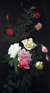 American Rose Artists Roses In Art