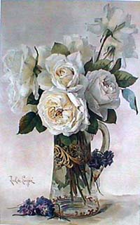 American Rose Artists Roses In Art